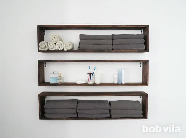 Long box shelves