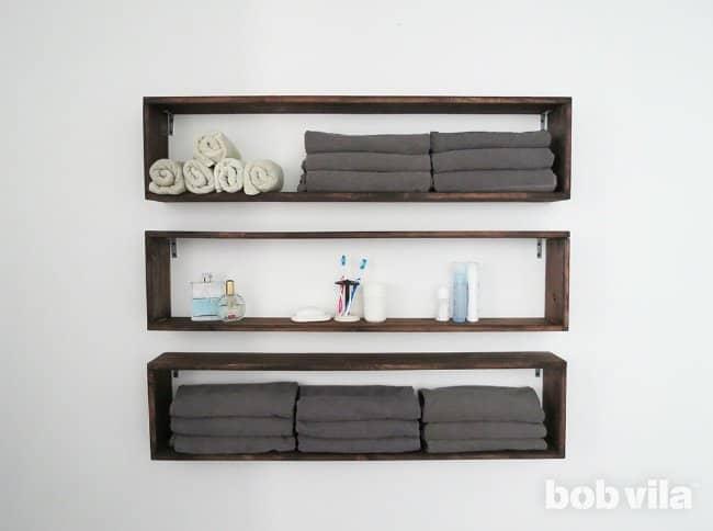 3 Long Box Shelves