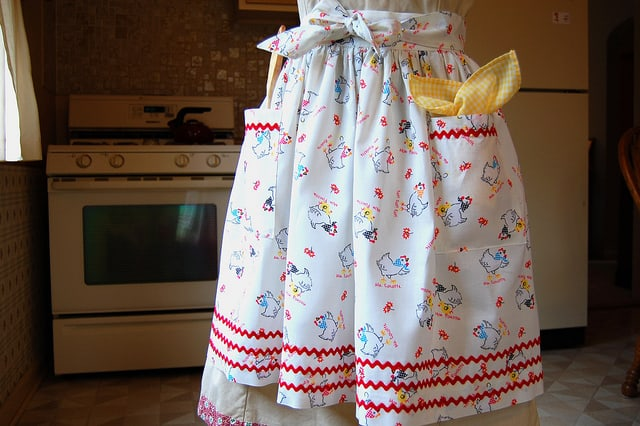 Minimum waste apron