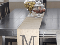 VIEW IN GALLERY & Making the Perfect Table Setting: DIY Table Runners