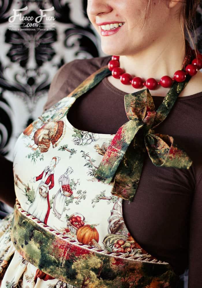 Old fashioned apron