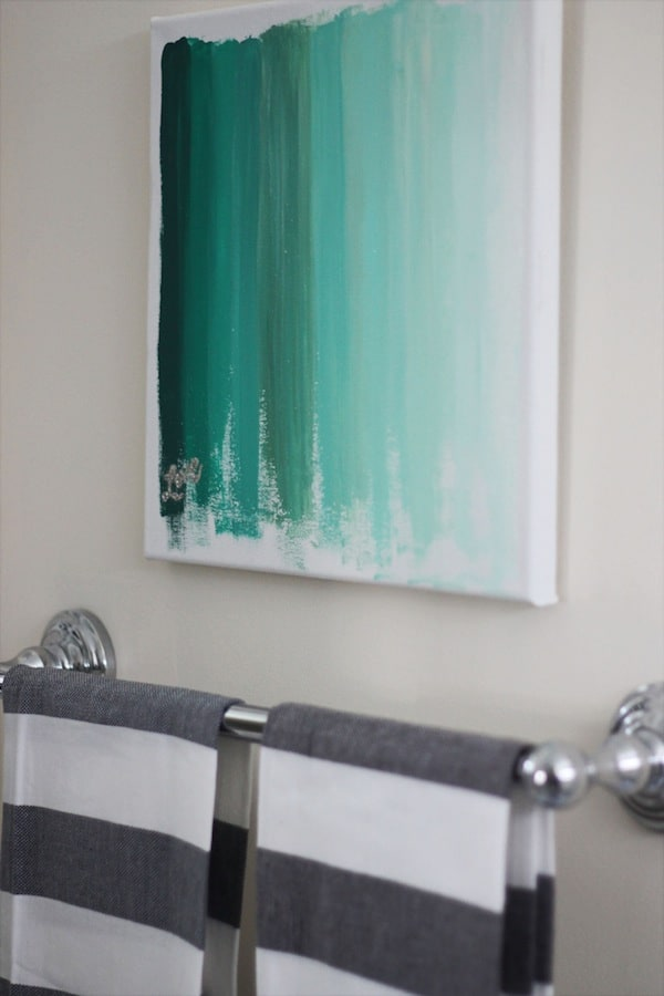 Ombre painting
