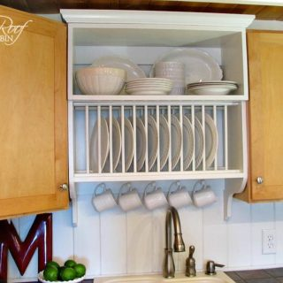 DIY Plate Rack: The Best Way to Stack Your Plates