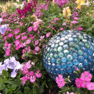 Rolling in Glitz and Glam: Amazingly Fun DIY Garden Balls!