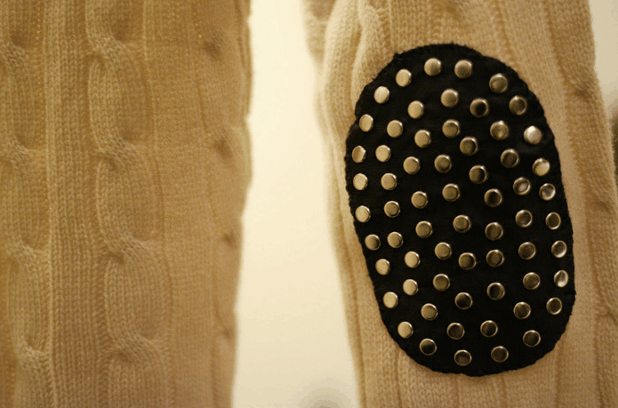 Studded elbow patches