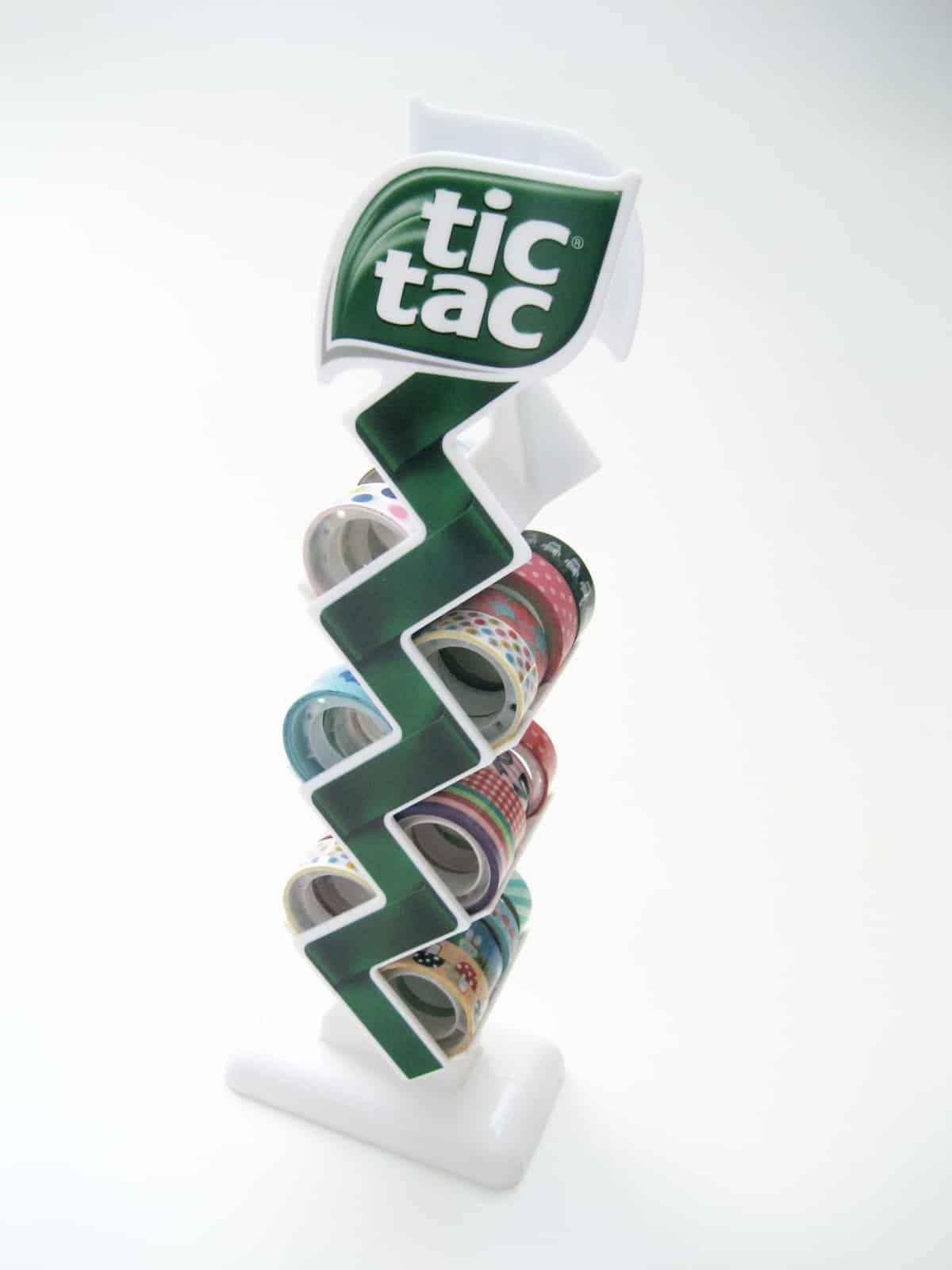 Tic Tac rack ribbon holder