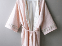 Trellis edged robe 200x150 Loose and Comfortable: DIY Morning Robes