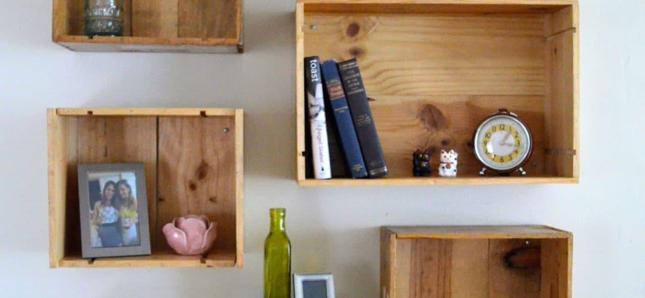 Dynamic Storage: DIY Box Shelves