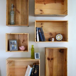 Dynamic Storage: DIY Box Shelves