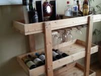 Dozen DIY Bar Carts: A Must Have at Every House Party