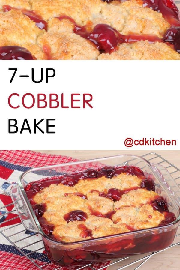 7-Up cobbler bake