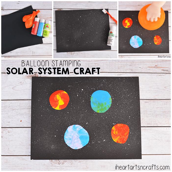 Balloon stamping solar system