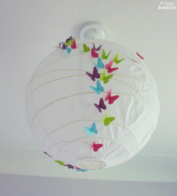 Butterfly lantern