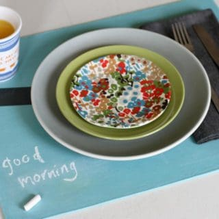 Awesome DIY Placemat Designs