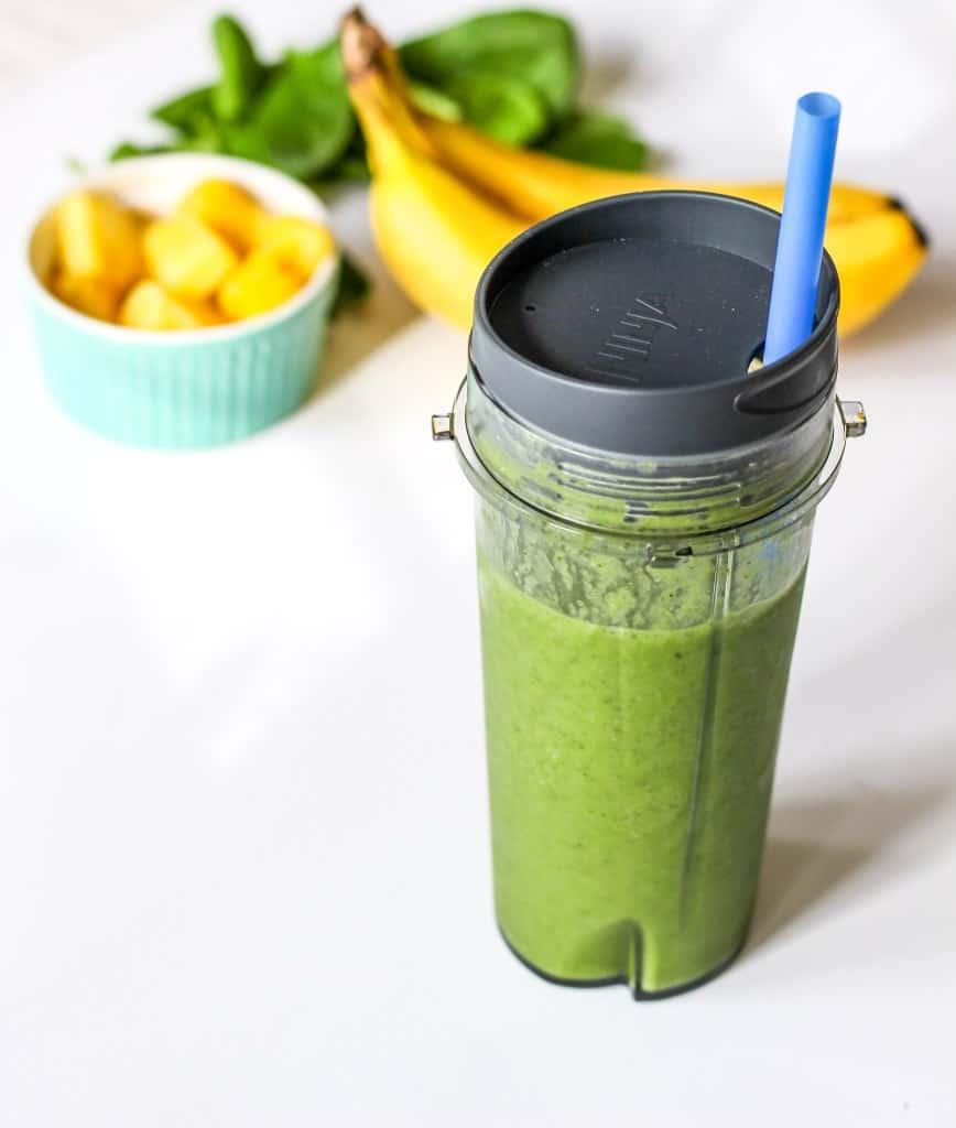 Detox chia green smoothie