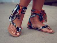 Gladiator sandals 200x150 Walk with Confidence in Stylish DIY Sandals!