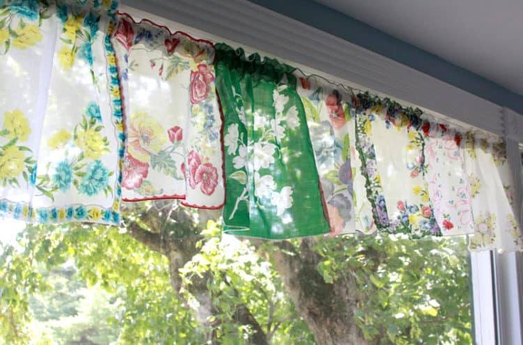 Handkerchief valances