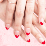 Adorable DIY Valentine's Day Manicures