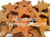 Homemade teething biscuits 200x150 Natural Homemade Teething Remedies for Babies