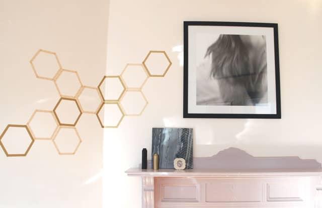 Honeycomb decal