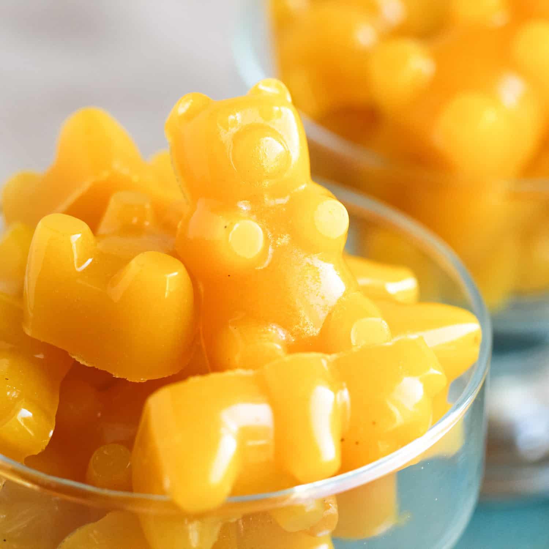 Lemon gummy bears