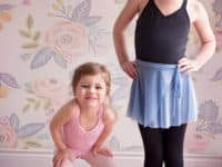 Little DIY wrap skirts for kids 200x150 Cute DIY Outfits for Ballet Class
