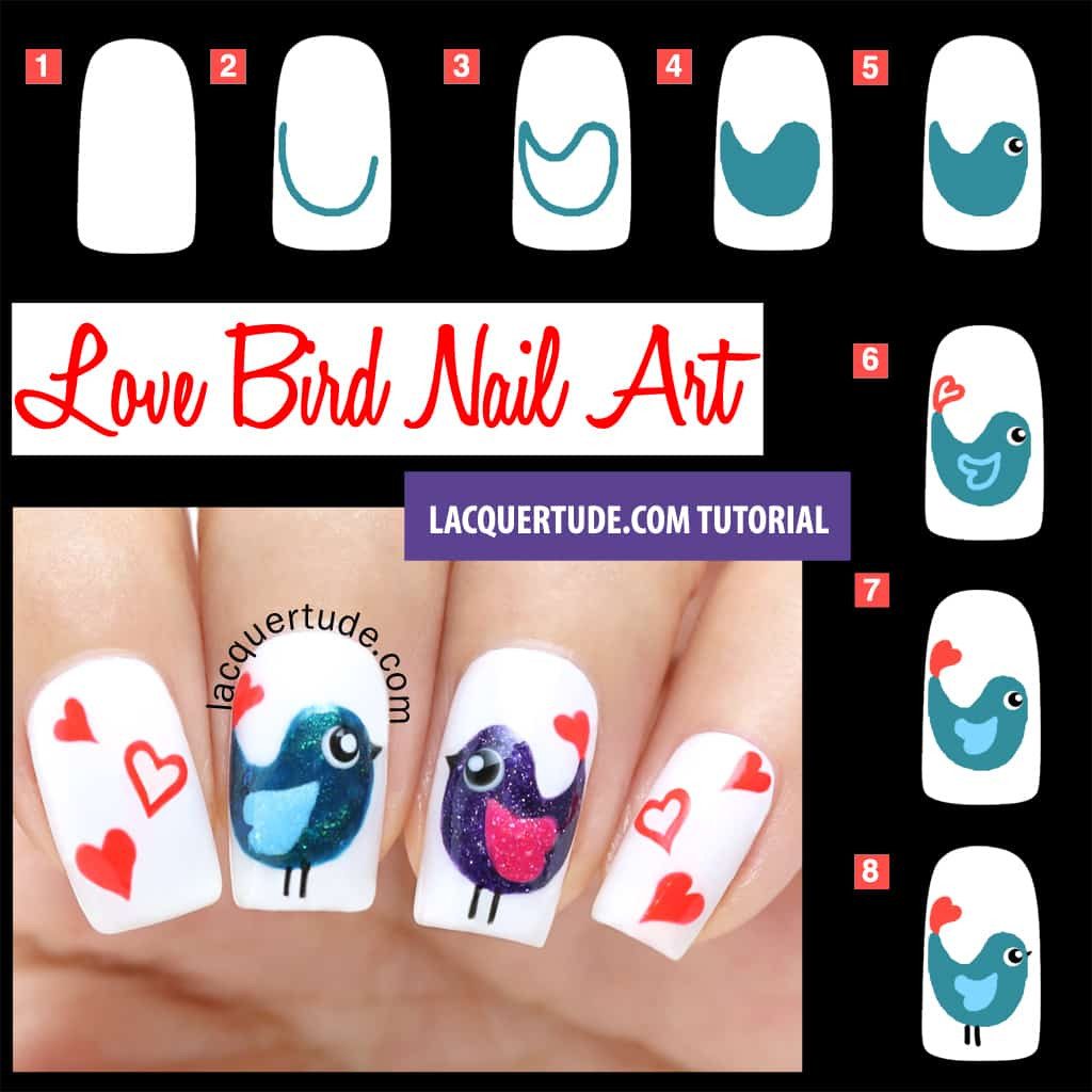 Love birds nails