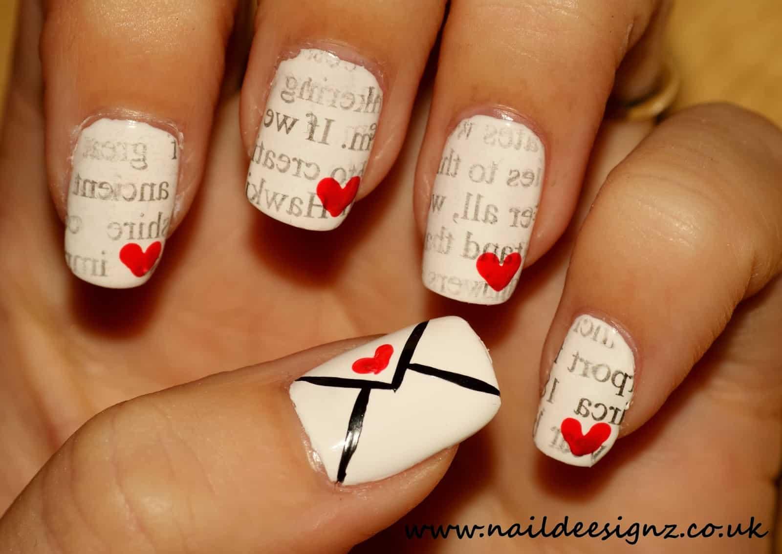 Love letter nails