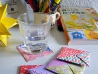 Patterned origami coasters 200x150 Beating the Ring: Easy and Eco Friendly DIY Paper Coasters