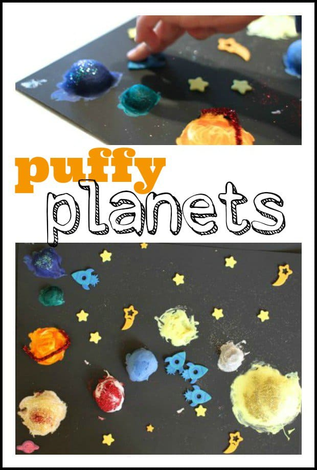 Puffy planets craft