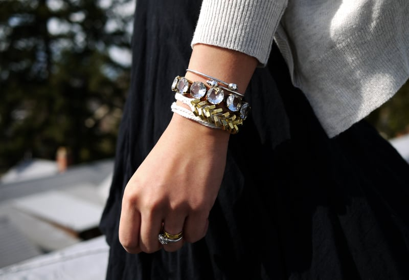 Rope hex nut bracelet