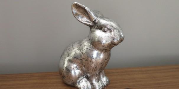 Silver bunny