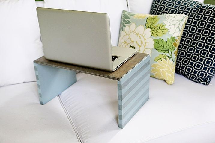 Striped Pastel Lap Desk