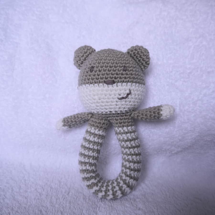 Teddy rattle