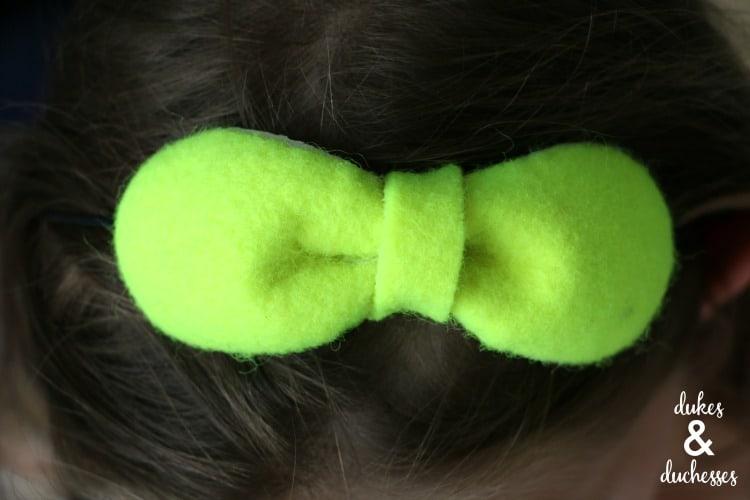 Tennis ball headband