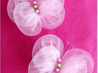 Tulle butterflies 200x150 Colorful Transformation: DIY Butterfly Crafts