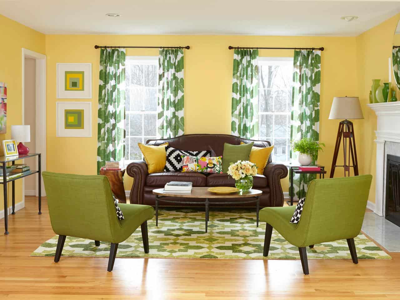 15 Fun Tips for Decorating Your Home with Green