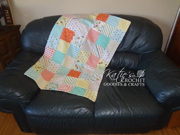 Beginner's square quilt