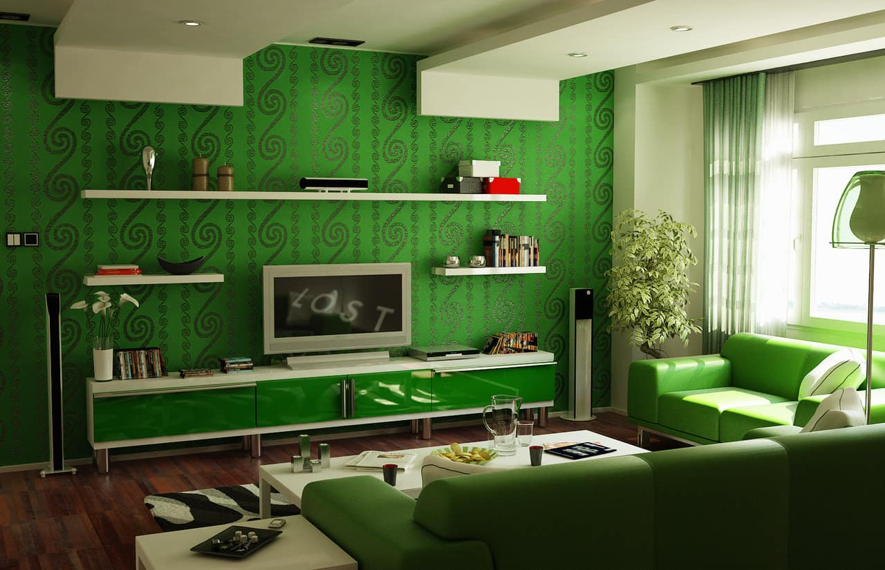14 Bold Greens And Patterns
