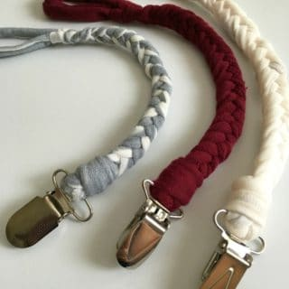 DIY Pacifier Clips: Never Lose Another Binky Again!