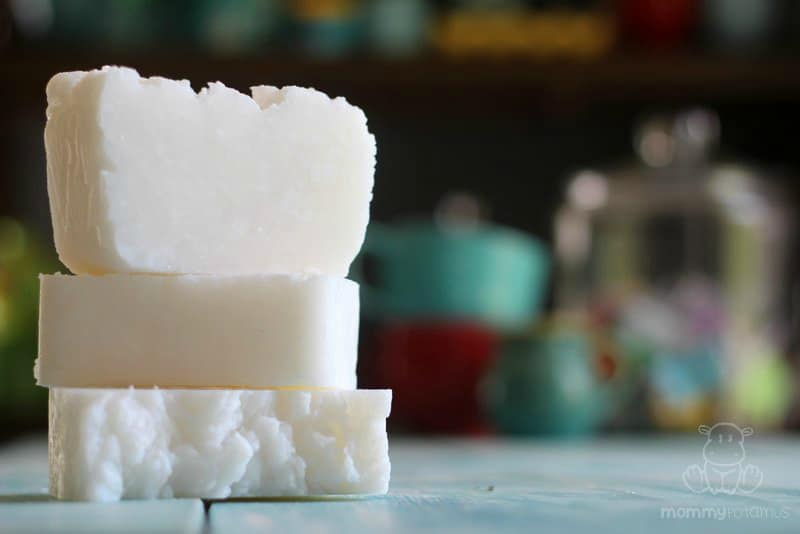 Coconut oil shampoo bars
