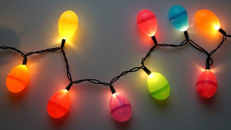 Easter egg string lights