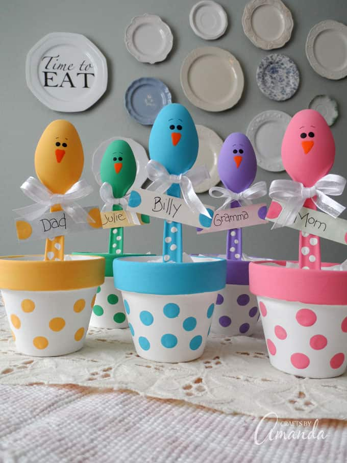 Easter placeholders