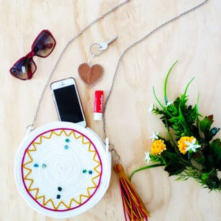 Simple and Fashionable: DIY Circle Bags