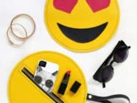 Emoji bags 200x150 Simple and Fashionable: DIY Circle Bags