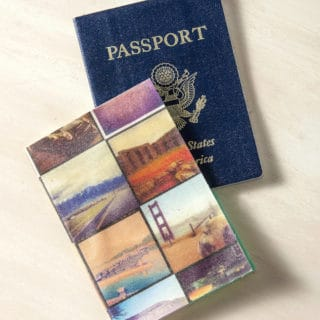 Wanderlust Essentials: DIY Passport Holders