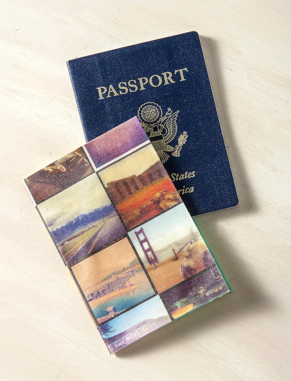 Butterfly Book Passport Holder
