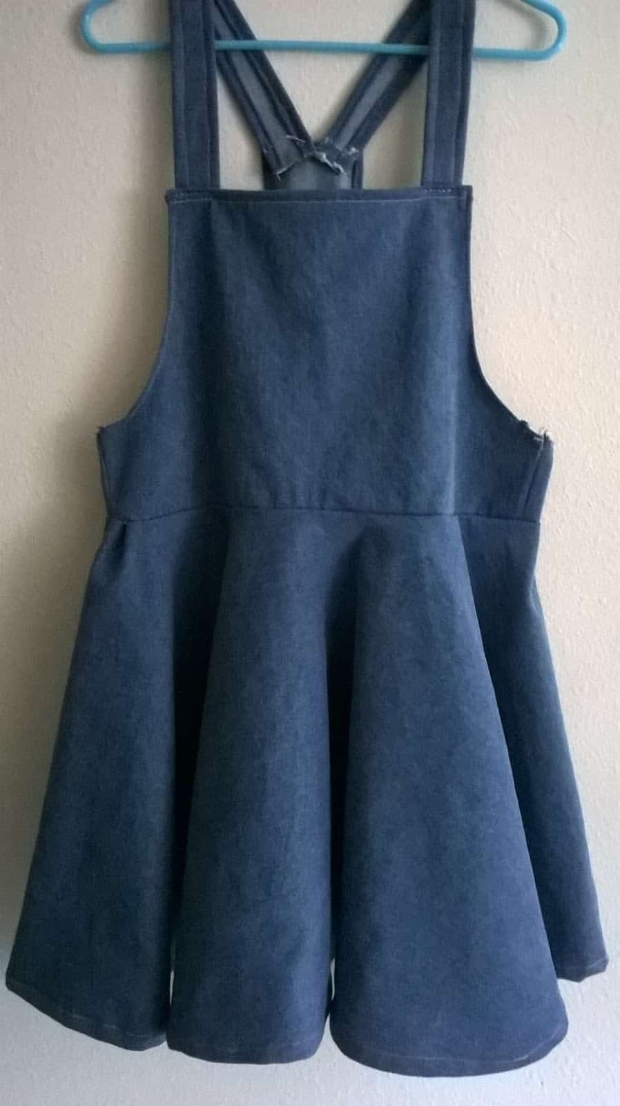 Loose overall dress