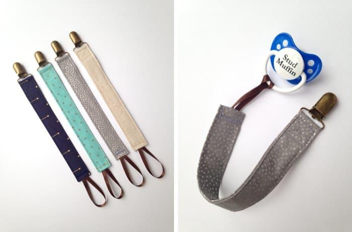 Modern pacifier clips