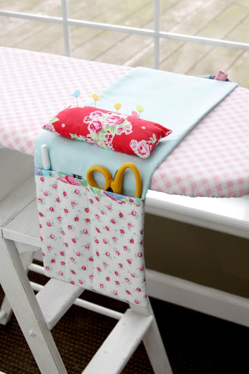 Pin cushion organizer